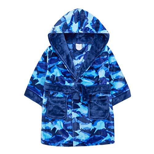 Lora Dora Jongens Camouflage Haai Robe Hooded Fleece Dressing Jurk Kids Nieuwigheid Badjas