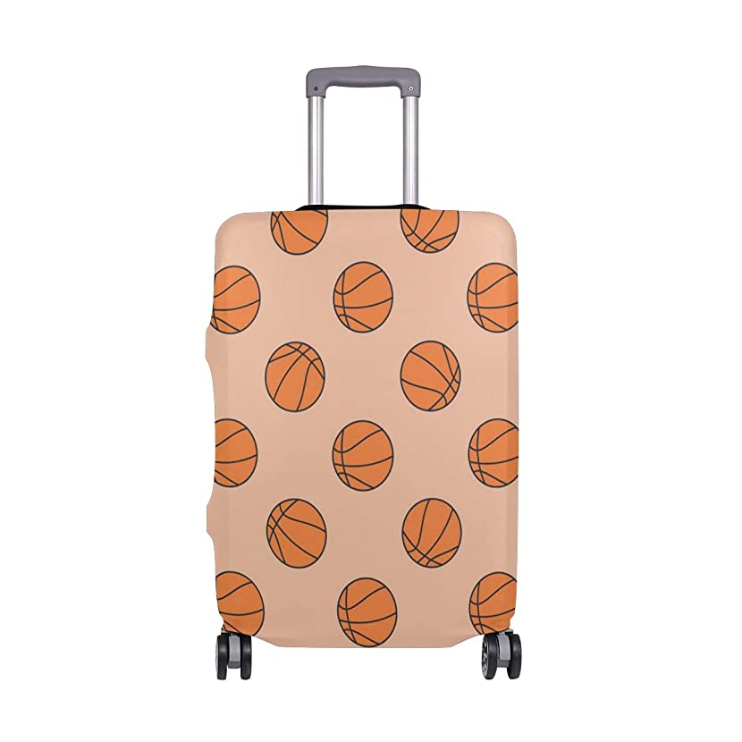 Basketball Hoop Hamper Travel Luggage Cover Protective Suitcase Cover Elastic Luggage Covere Protector,Four Sizes Available
