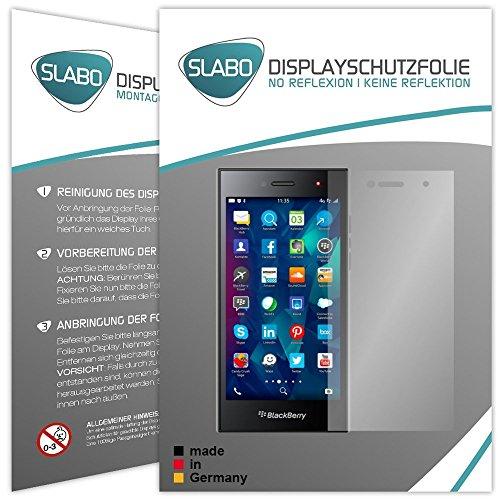 Slabo 4 x Bildschirmschutzfolie für BlackBerry Leap Bildschirmfolie Schutzfolie Folie Zubehör No Reflexion MATT