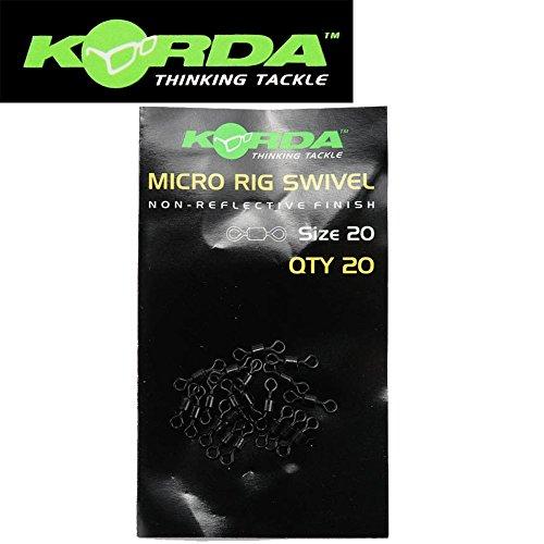 Korda Micro Rig Swivel - 20 Stück