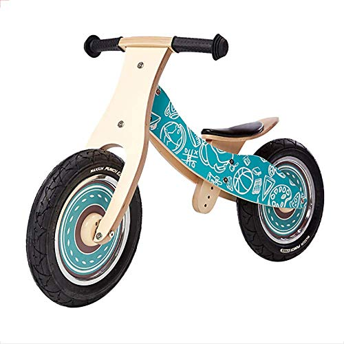 WHTBOX Kids Balance Bike/Training Bicycle 2 In 1,No Pedals,Adjustable Handlebar and Seat Lightweight Kids Bike,Birthday Gift Choice,More Than One Year Old Boys/Girls,Blue