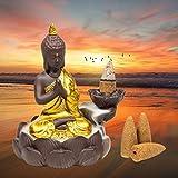 Buddha Backflow incence burner