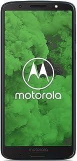Motorola Moto G6 Plus 64GB Single-SIM Factory Unlocked 4G Smartphone (Indigo Blue) - International Version
