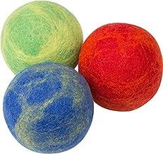 boiled wool dog toys safe