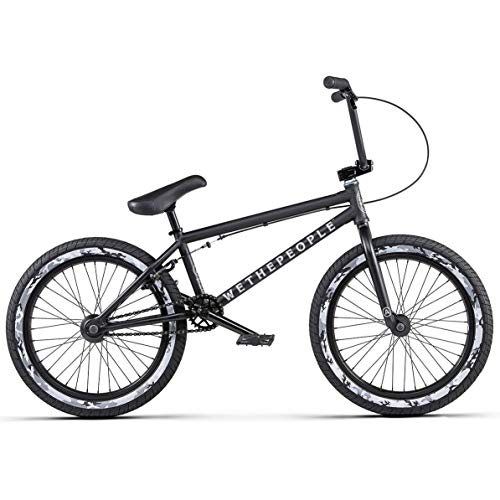 Learn More About We The People Arcade BMX Bike - 20.5 TT Matte Black Cassette