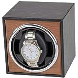 YOFEE WBV Aydc 3 Engranaje mecánico USB Carga automática Reloj Reloj eléctrico Reloj de Reloj (Color : Black)