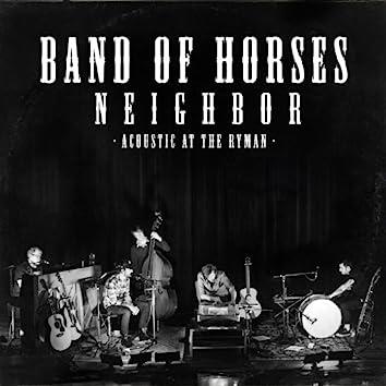 Neighbor (Live Acoustic)