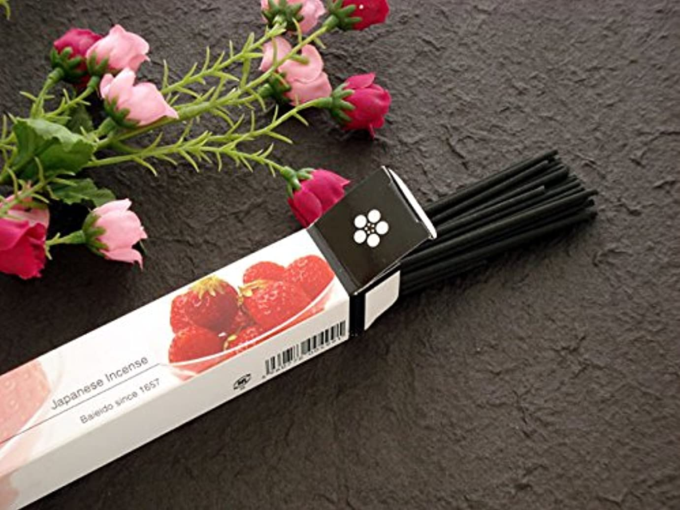 国家出血敵対的梅栄堂のお香 strawberry (イチゴの香り)