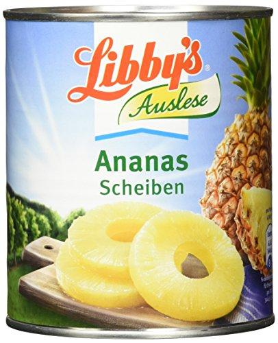 Libby Ananas in Scheiben 835 g