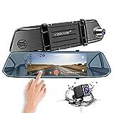Mirror Dash Cam, CHICOM 7 Inch 1080P Full HD IPS...