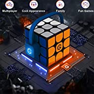 MI Giiker Magic Cube Puzzles I3S Smart Super Speed Cube, APP Sync Teaching - 30 Seconds Fast Recovery - Fun Games - Racing Structure