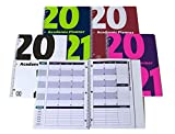 2020-2021 Academic Planner, A Tool for Time Management, Daily, Weekly & Monthly School Agenda for Keeping Students On Track & On Time, (July 2020-June 2021), Size 8.5x11, Red