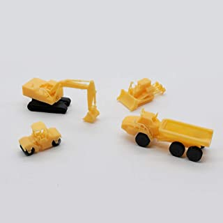 outland models Railway Miniature Heavy Construction Vehicle Set Z Scale 1:220