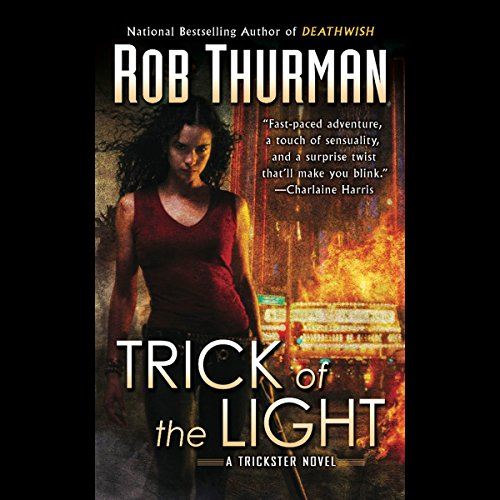 Trick of the Light audiobook cover art