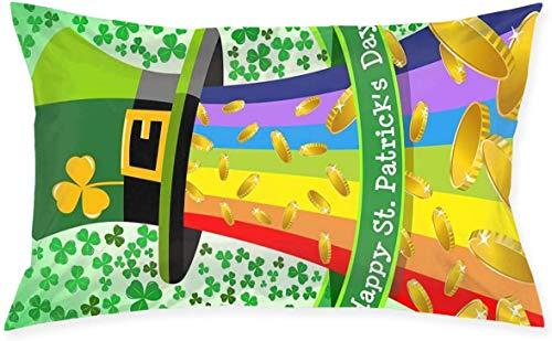 Just life Funda de cojín Decorativa pequeña Lumbar para cojín, Funda de Almohada, diseño Lateral Decorativo de la Serie Living, 29,9'x 19,6'