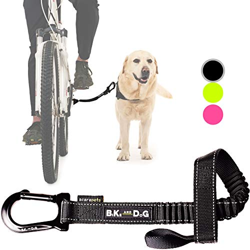 BIKE AND DOG Leash: Designed to take one or More Dogs with a Bicycle. Patented Product.
