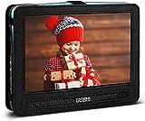 COOAU Portable Car Headrest Mount Strap Case for Portable DVD player (10'- 10.5')