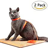 Avolare Cat Harness Adjustable Nylon Strap Collar - 2/Pack