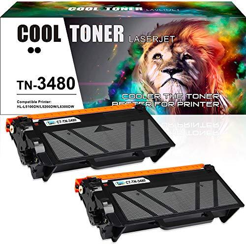 Cool Toner Kompatibel Tonerkartusche Replacement für Brother TN3480 TN-3480 TN3430 für Brother HL L5100DN Toner, HL L5000D L6200DW L6300DW L6400DW L6400DWT L5200DW, MFC L6800DW L6900DW, DCP L5500DN