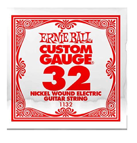 Ernie Ball: 1132 Custom Gauge .032 - Cuerda para guitarra eléctrica