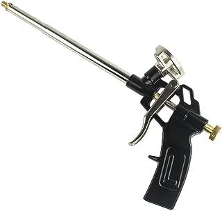 Foam Gun, Picowe Foaming Gun Pu Expanding Caulking Gun Metal Body Pro Heavy Duty PU Spray Foam Gun Grade Expanding Spray Application Applicator