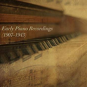 Early Piano Recordings (1907-1943)
