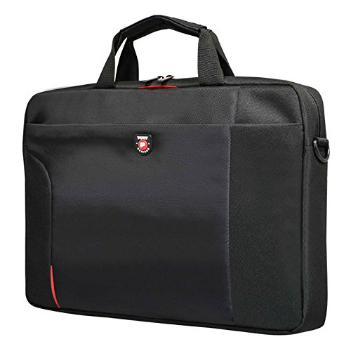 Port Designs Urban Line Houston Professional Business Women/Men Black Windows/Macbook Notebook/Laptop Bag/Briefcase for Dell/HP/Lenovo - 15.6 inch