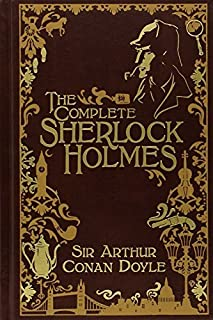 The Complete Sherlock Holmes [Leatherbound] by Doyle, Arthur Conan (2009) Leather Bound