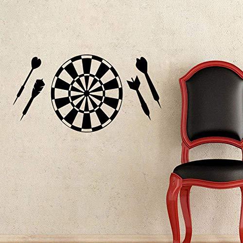 Dartscheibe Wandaufkleber Hauptdekoration DIY Vinyl Kunst Aufkleber an der Tür abnehmbare Kinderzimmer Wanddekoration