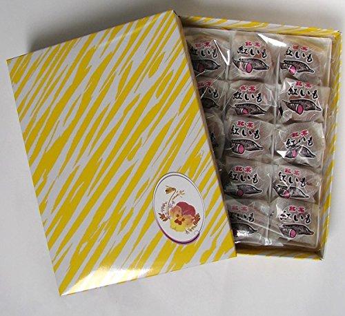 紅芋まんじゅう箱小 15個