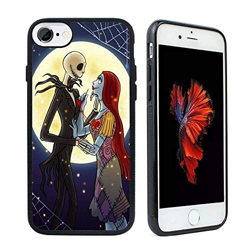 The Nightmare Before Christmas Hybrid TPU - Carcasa para iPhone 8 y iPhone 7