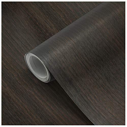 Papel Adhesivo Madera para Muebles 61x500cm, Espesar Duradero Vinilo Película Prueba de Aceite Impermeable Papel Pared para la Cocina Encimera Oficina, Type G