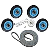 ATMA Dryer Repair Kit for Samsung Belt Maintenance Kit Includes DC97-16782A Drum Roller DC93-00634A Idler...