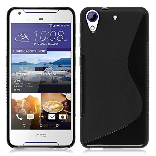 VComp-Shop® S-Line TPU Silikon Handy Schutzhülle für HTC Desire 628/628 dual SIM - SCHWARZ