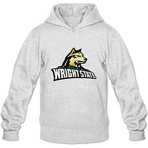 Eduardo Marin Wright State Raiders Casual Hoodies for Men