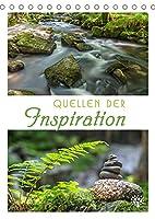 Quellen der Inspiration (Tischkalender 2022 DIN A5 hoch): Impulse, tiefsinnige Gedanken und grossartige Naturmotive. (Monatskalender, 14 Seiten )