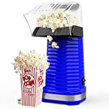 Hot Air Popcorn Poppers for Home, 1200W Popcorn Maker Machine for Healthy Snack, No Oil Needed,...