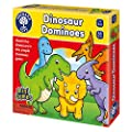 Orchard Toys Dinosaur Dominoes - Travel-Sized Game of Dominoes, Multicolor