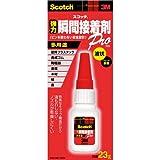 3M スコッチ 強力瞬間接着剤 液状多用途 23g 7070