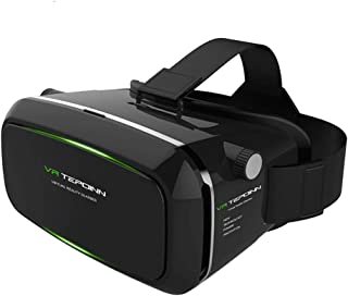 Tepoinn VR ゴーグル 3D VRメガネ iPhone7/7/Plus/8/SONY/Samsung AndroidとAndroid 4.7-6.0インチスマホ対応 ヘッドバンド付き