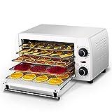 WY- Food Dehydrator Deshidratador de Alimentos, Secador de Alimentos Eléctrico Profesional de 5 Bandejas con Temperatura Regulable y Temporizador