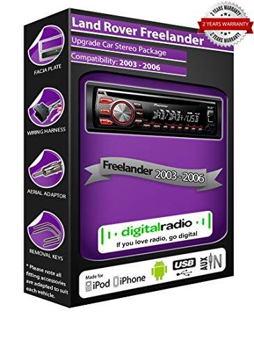 Pioneer Freelander DAB Radio CD estéreo DEH-4700DAB + antena DAB gratis (reacondicionado)
