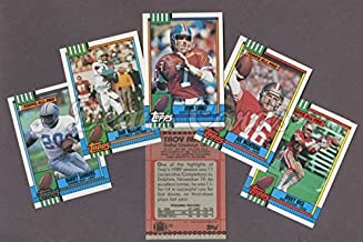 1990 Topps Football Factory Sealed Complete Set (Football Set) Dean's Cards 9 - MINT