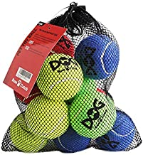 insum Tennis Ball for Dog Pack of 12 Colorful Easy Catching Pet Dog Ball