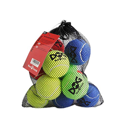 insum Tennis Ball for Dog Pack of 12 Colorful Easy Catching...