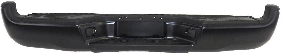 Titanium Plus Autoparts, 2005-2013 Fits For Toyota Tacoma Rear Step Bumper Assy BLACK