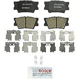 Bosch BC1212 QuietCast Premium Ceramic Disc Brake Pad Set For: Lexus ES300h, ES350, HS250h; Pontiac Vibe; Toyota Avalon, Camry, Matrix, RAV4, Rear