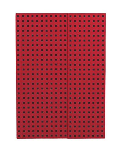 ペーパーオー ノート Red on Black B5 罫線 OH9056-4