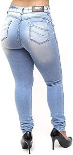 Calça Jeans Feminina Deerf Clara Skinny Adrianne Azul