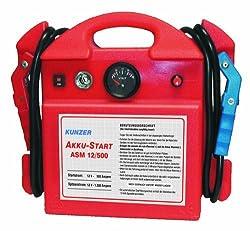 Kunzer Akku-Starter 12 V, ASM 12/500